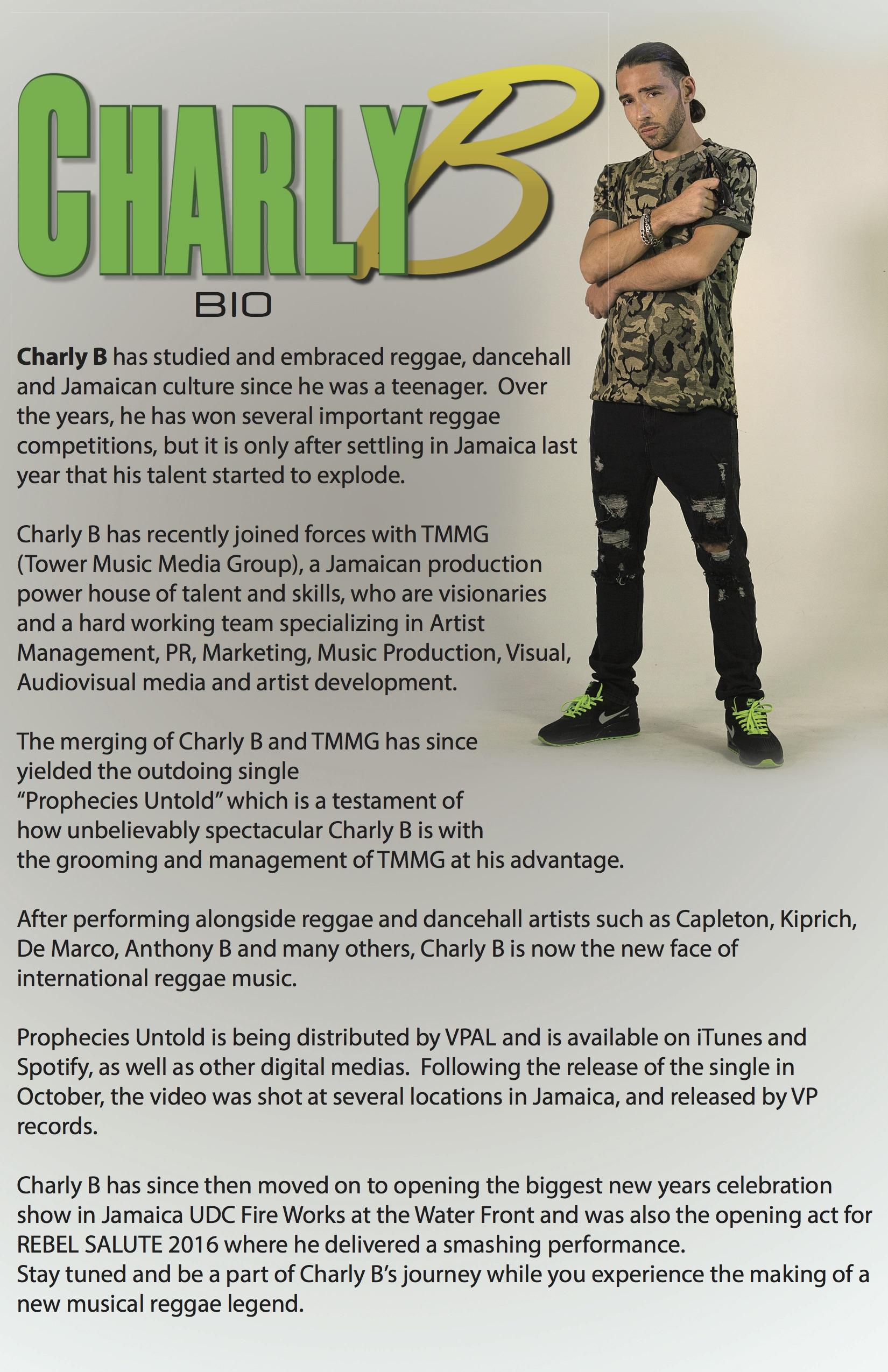 Charly b Biography