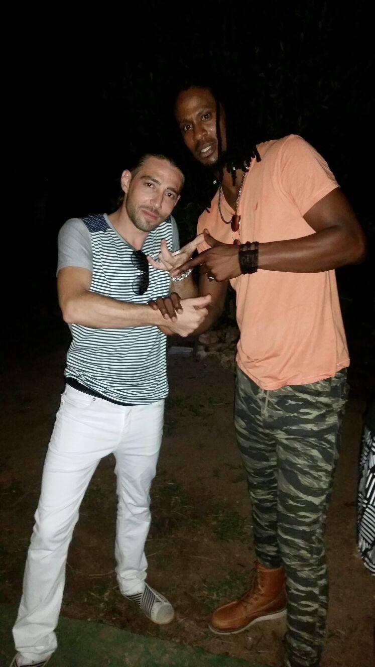 Charly B & Omari Banx